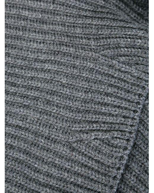 Классический Шарф-Снуд Neil Barrett                                                                                                              серый цвет