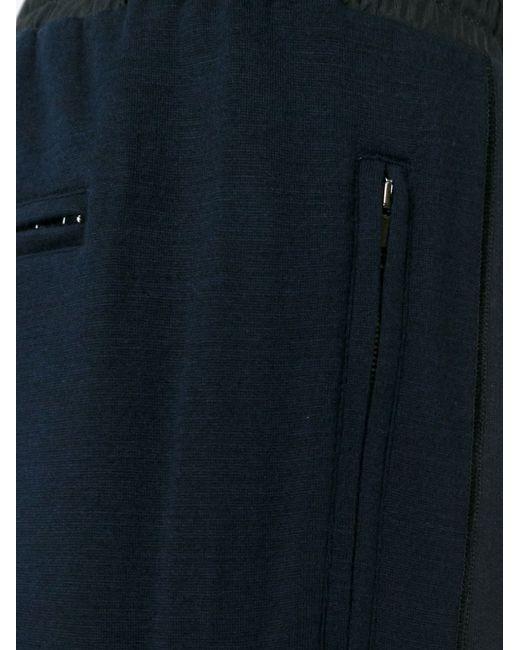 Брюки Кроя Слим Dolce & Gabbana                                                                                                              синий цвет
