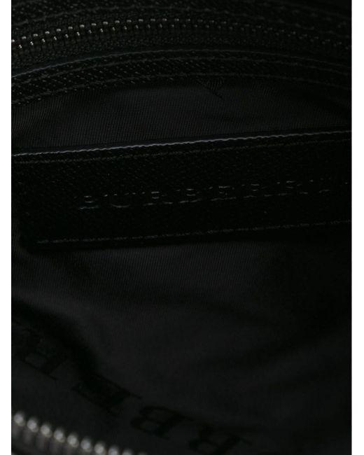 Сумка-Почтальонка С Логотипом Burberry                                                                                                              чёрный цвет