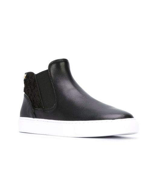 Logo Slip On Sneakers Tory Burch                                                                                                              чёрный цвет