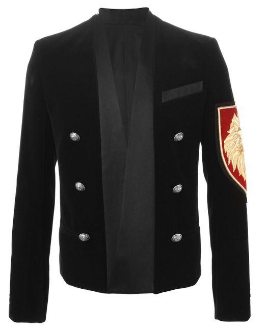 Insignia Blazer Balmain                                                                                                              чёрный цвет