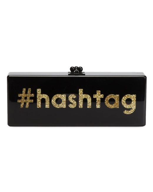 Клатч-Футляр Hashtag EDIE PARKER                                                                                                              чёрный цвет