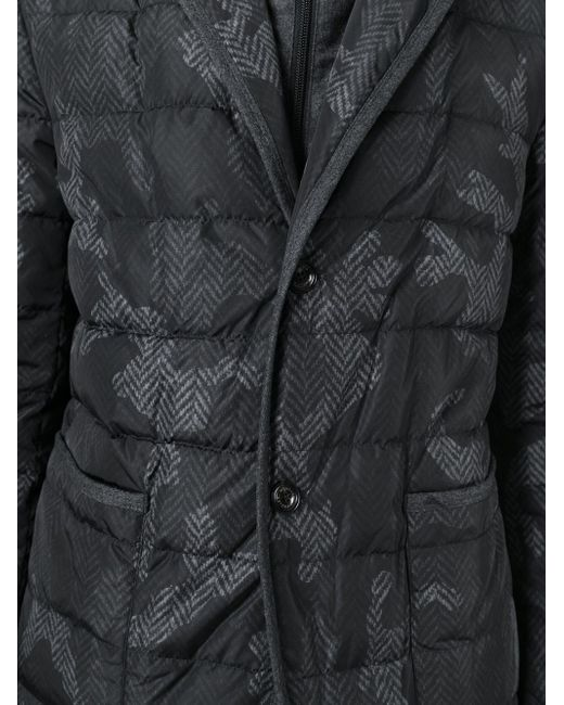 Rocher Padded Jacket Moncler                                                                                                              серый цвет