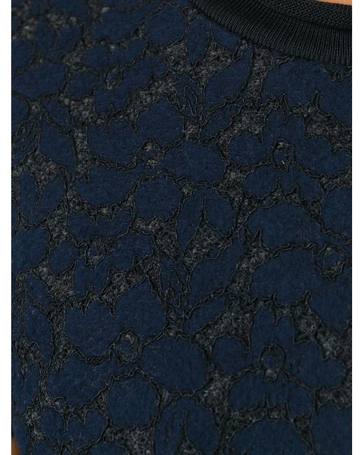 Трикотажный Топ С Кружевной Панелью 3.1 Phillip Lim                                                                                                              чёрный цвет