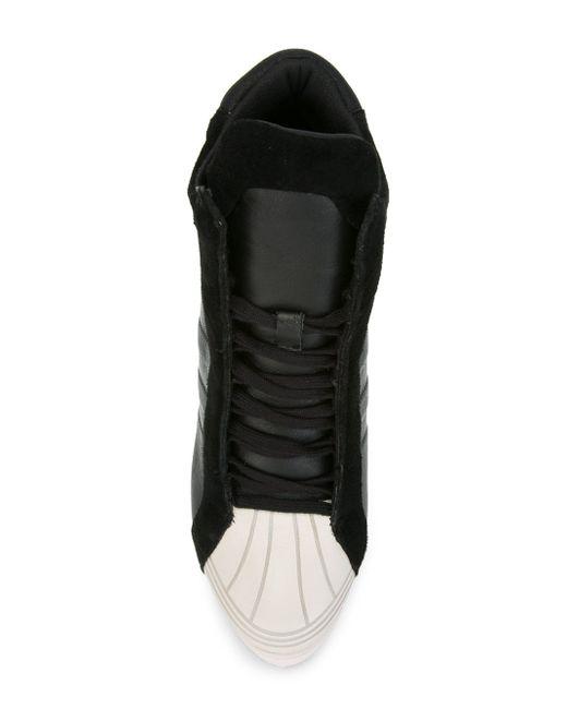 Хайтопы На Танкетке adidas Originals                                                                                                              чёрный цвет