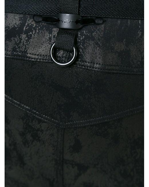 Леггинсы Из Искусственной Кожи High                                                                                                              чёрный цвет