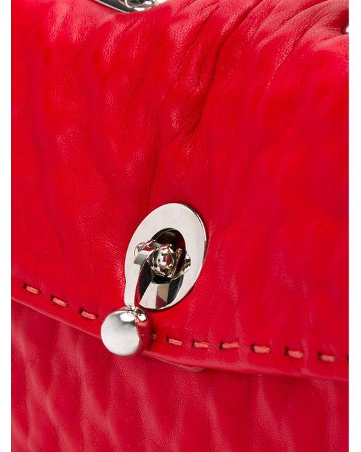 Сумка-Тоут С Цепочной Ручкой Ermanno Scervino                                                                                                              красный цвет