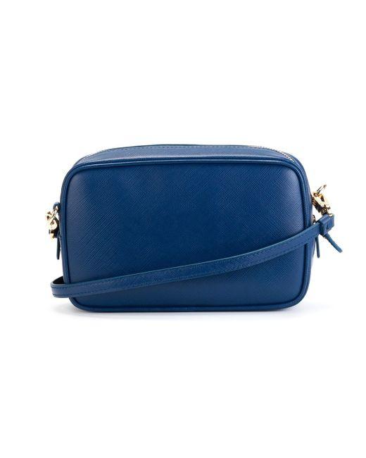 Клатч С Деталью Gancini Salvatore Ferragamo                                                                                                              синий цвет