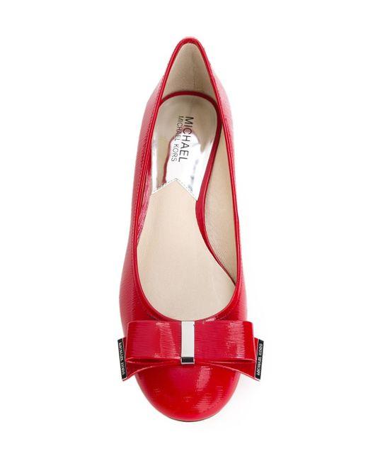 Туфли С Бантом Michael Michael Kors                                                                                                              красный цвет