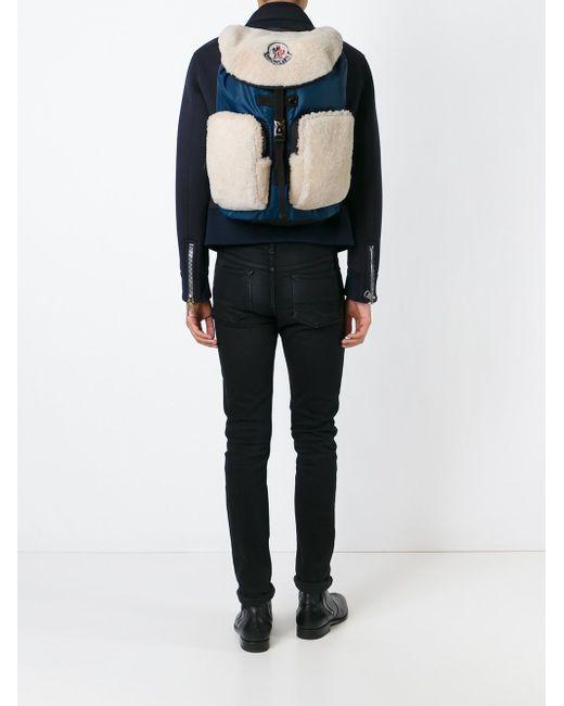 Рюкзак George Moncler                                                                                                              синий цвет