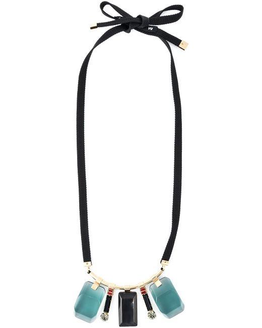 Ожерелье С Камнями Marni                                                                                                              многоцветный цвет