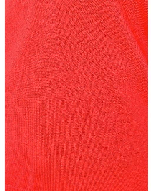 Свитер C V-Образным Вырезом Proenza Schouler                                                                                                              красный цвет