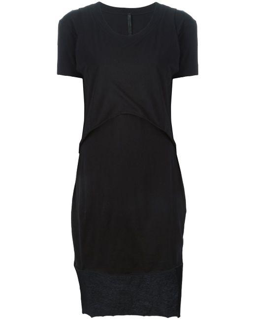Многослойное Платье-Футболка Barbara I Gongini                                                                                                              чёрный цвет