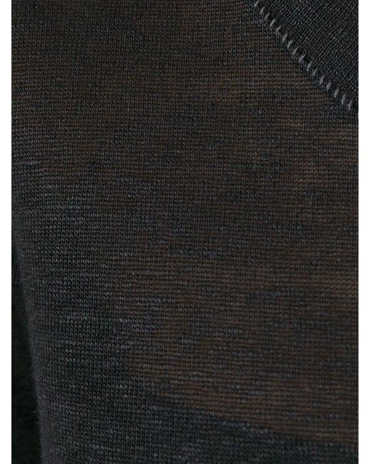 Удлиненная Кофта С Длинными Рукавами Barbara I Gongini                                                                                                              чёрный цвет