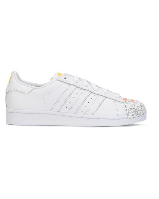Кеды Superstar Pharrell Supershell Adidas Originals by Pharrell Williams                                                                                                              белый цвет