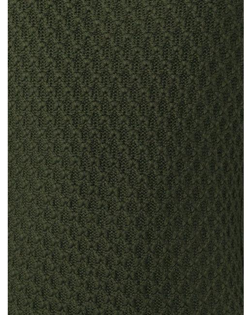 Свитер Вязки Косичка Neil Barrett                                                                                                              зелёный цвет