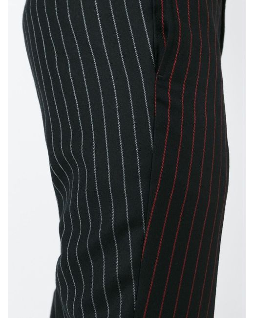 Брюки В Тонкую Полоску Givenchy                                                                                                              чёрный цвет