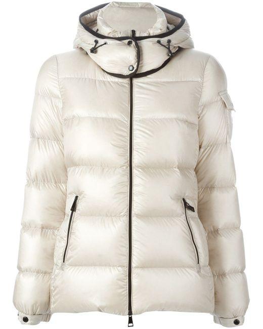 Hooded Padded Jacket Moncler                                                                                                              белый цвет