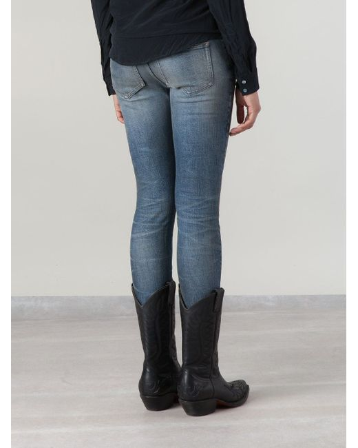 Skinny Jeans Faith Connexion                                                                                                              синий цвет