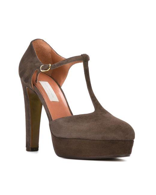 Туфли На Платформе L' Autre Chose                                                                                                              коричневый цвет