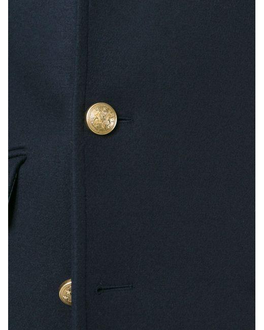 Пальто В Стиле Милитари Ports                                                                                                              синий цвет