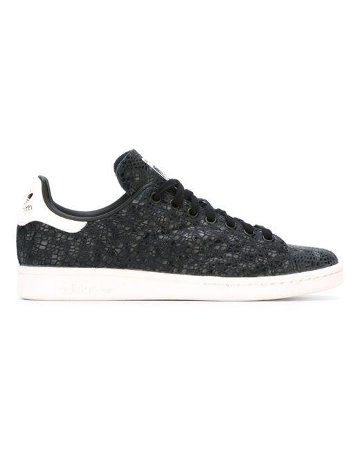 Кеды Stan Smith adidas Originals                                                                                                              чёрный цвет