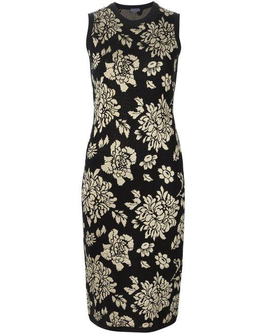 Jacquard Fitted Dress Emanuel Ungaro                                                                                                              чёрный цвет