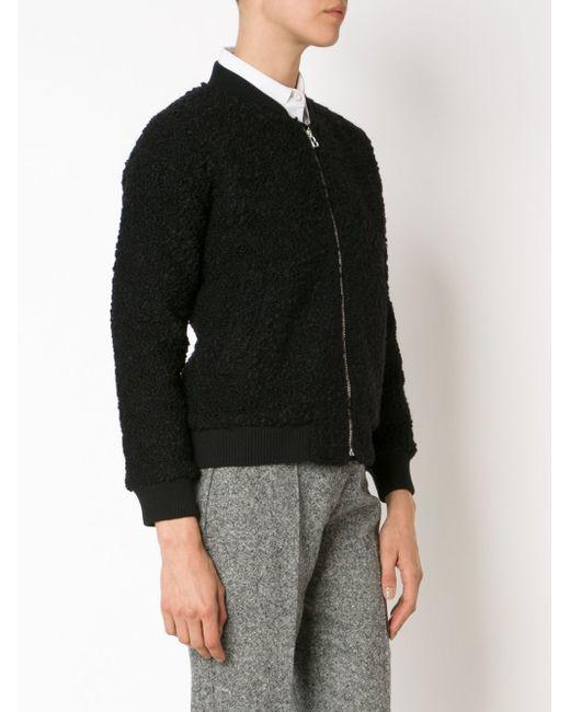 Куртка-Бомбер YMC                                                                                                              чёрный цвет