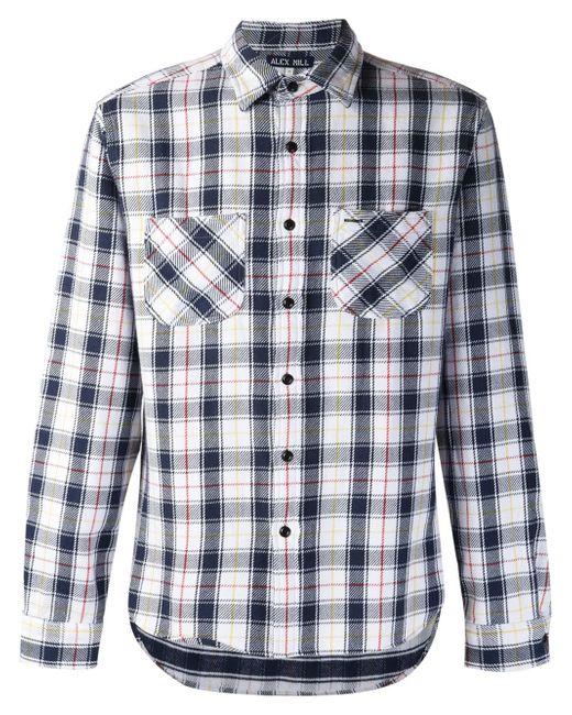Plaid Flannel Shirt ALEX MILL                                                                                                              белый цвет