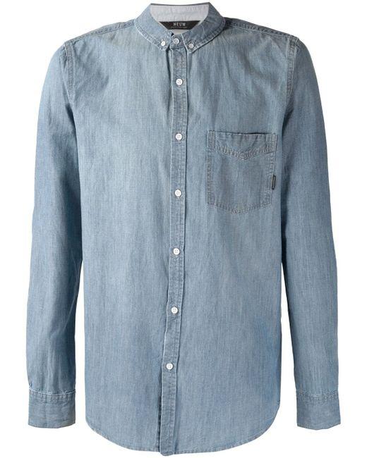 Рубашка Bob NEUW                                                                                                              синий цвет