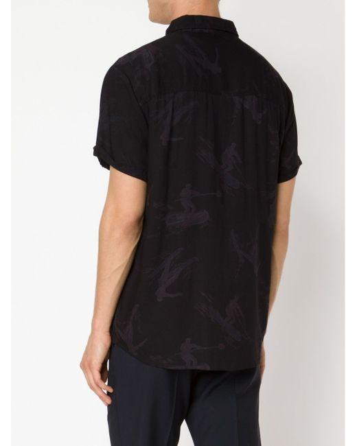Рубашка Hunter NEUW                                                                                                              чёрный цвет