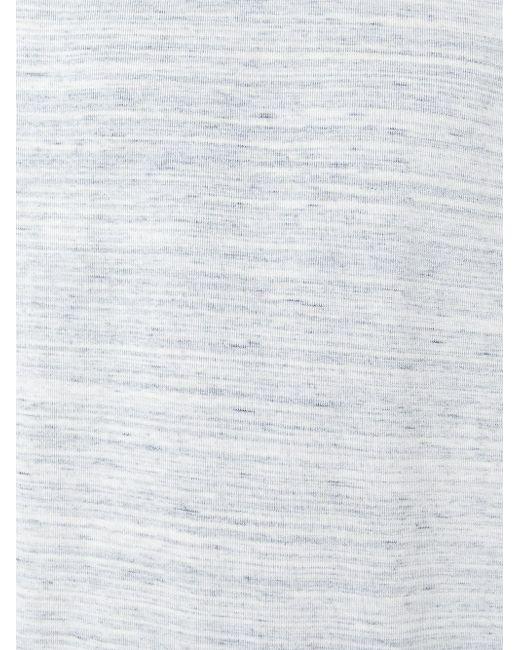 Толстовка С Манжетами В Рубчик HARMONY PARIS                                                                                                              серый цвет