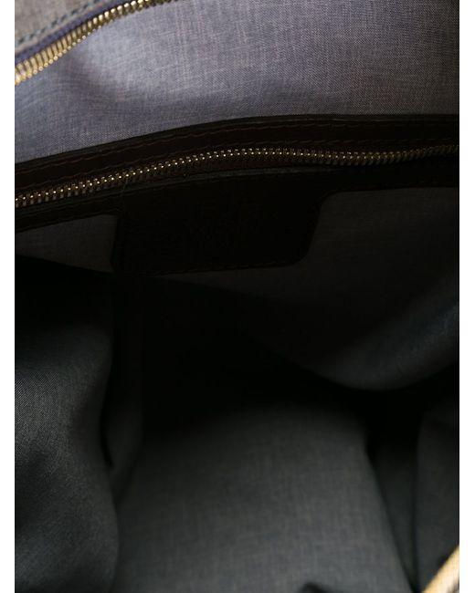 Сумка-Тоут С Верхними Ручками Eleventy                                                                                                              серый цвет