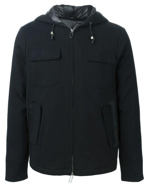 Куртка-Ветровка На Молнии Paolo Pecora                                                                                                              чёрный цвет