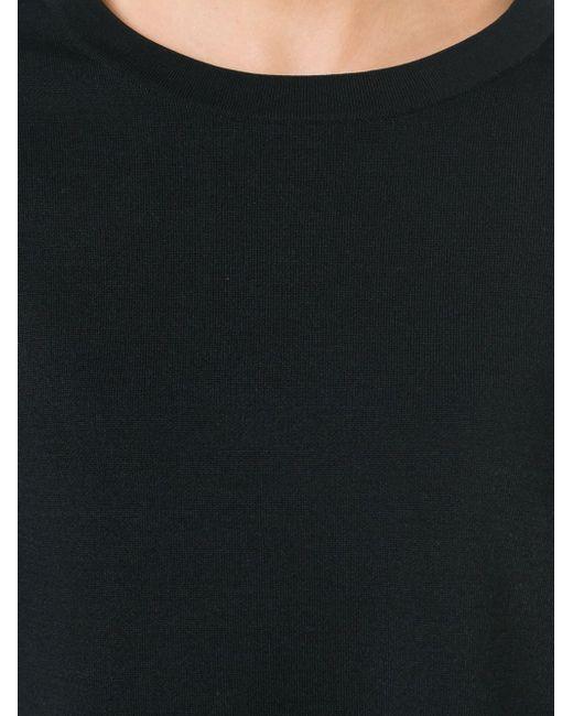 Свитер С Круглым Вырезом Paul Smith Black Label                                                                                                              чёрный цвет
