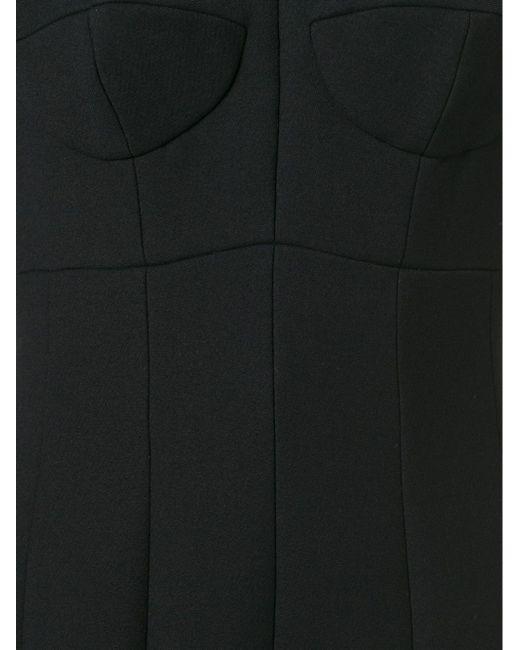 Flared Pleated Hem Dress Dolce & Gabbana                                                                                                              чёрный цвет