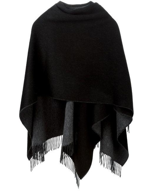 Шарф-Шаль С Бахромой Rag & Bone                                                                                                              чёрный цвет