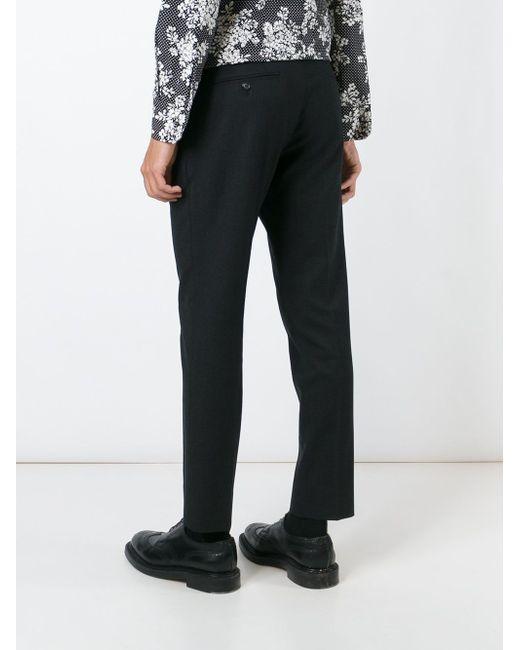 Классические Брюки Dolce & Gabbana                                                                                                              серый цвет