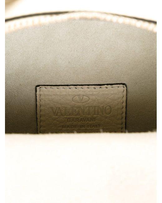 Small Rockstud Backpack Valentino Garavani                                                                                                              Nude & Neutrals цвет