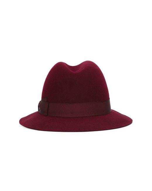 Фетровая Шляпа Borsalino                                                                                                              красный цвет