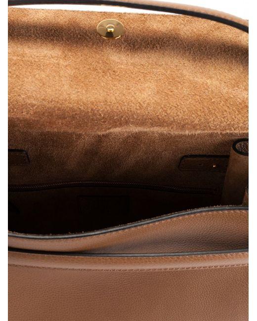 Большая Сумка-Тоут My Rockstud Valentino Garavani                                                                                                              Nude & Neutrals цвет