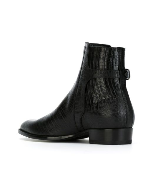 Ботинки По Щиколотку Hedi Saint Laurent                                                                                                              чёрный цвет