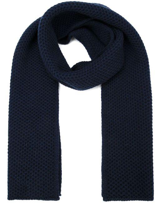 Knitted Scarf Loro Piana                                                                                                              синий цвет