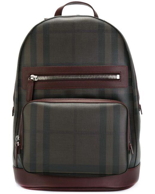 Рюкзак Nova Burberry                                                                                                              красный цвет