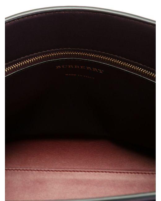 Small Saddle Bag Burberry                                                                                                              красный цвет