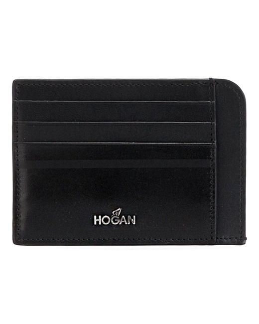 Визитница С Логотипом Hogan                                                                                                              чёрный цвет