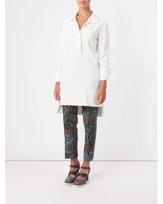 High-Low Hem Tunic Marni                                                                                                              белый цвет