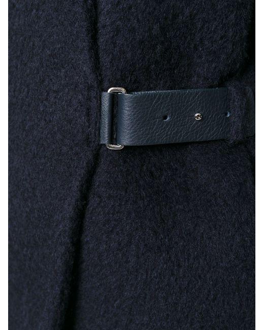 Пальто С Поясом Eleventy                                                                                                              синий цвет