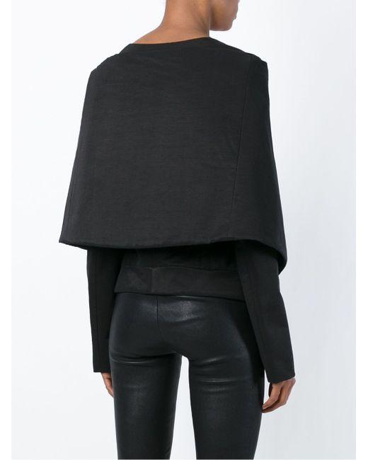 Приталенная Куртка С Объемным Воротником Gareth Pugh                                                                                                              чёрный цвет