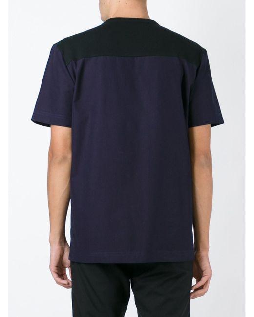Футболка Колор-Блок TIM COPPENS                                                                                                              чёрный цвет